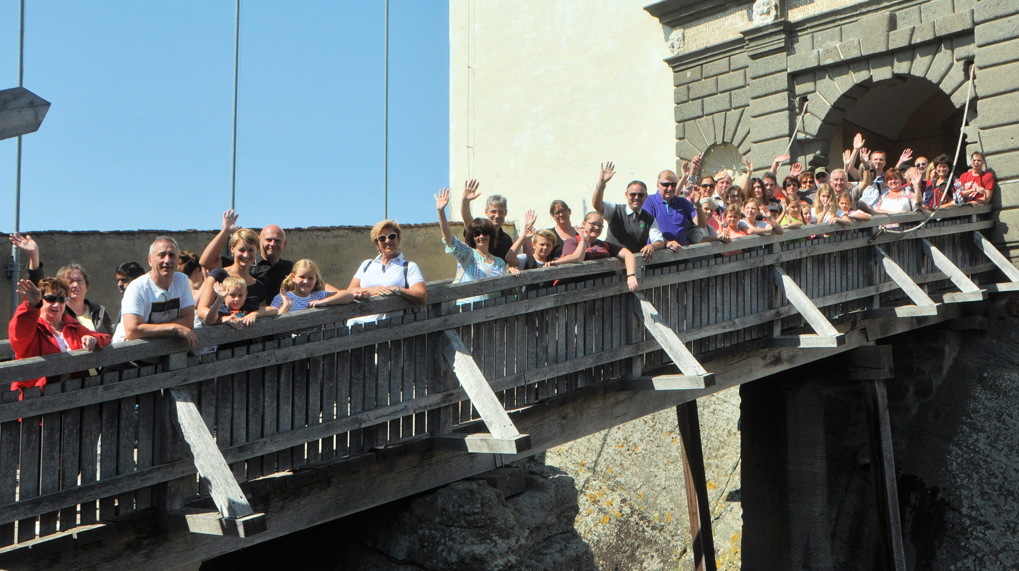 Ausflug Riegersburg NarrGeLanz 2017
